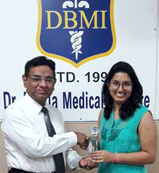 Dr. Deeksha Bhalla Rank 1 in PGI May 2016 Exam Toppers