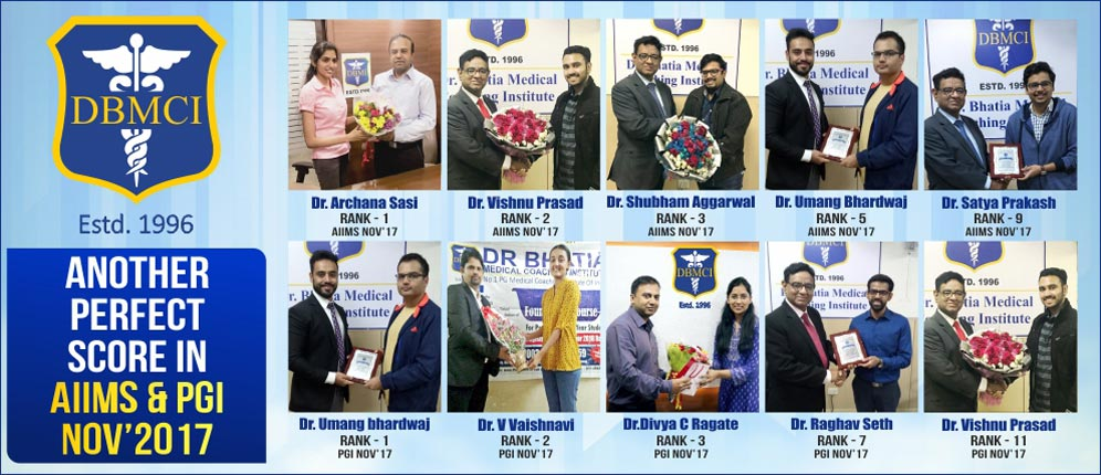 AIIMS PGI Exam Toppers