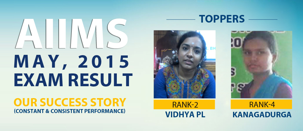 AIIMS Toppers May 2015