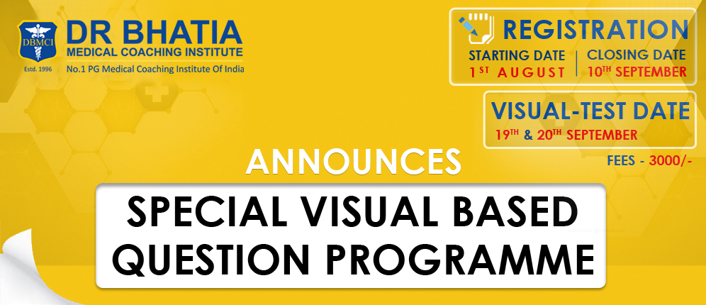 Special Visual Based Programme
