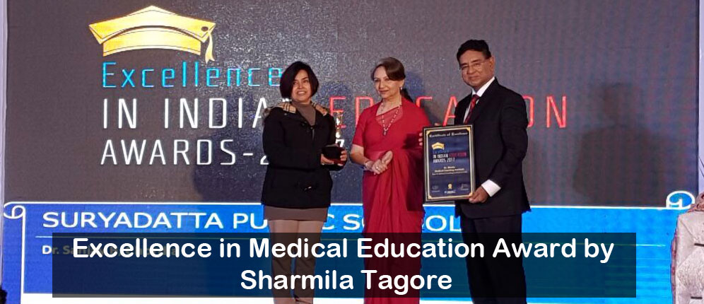 Excellence in Medical Education Award by  Sharmila Tagore