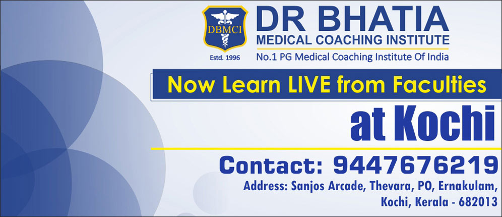 Learn Live with Faculties at Kochi