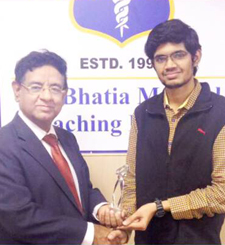 Dr. Chandan Sharma Rank 16 in NEET PG Jan 2017 Exam Toppers