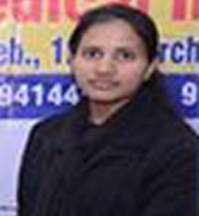 Dr. Purnima Sharma Rank 3138 in NEET PG Jan 2017 Exam Toppers