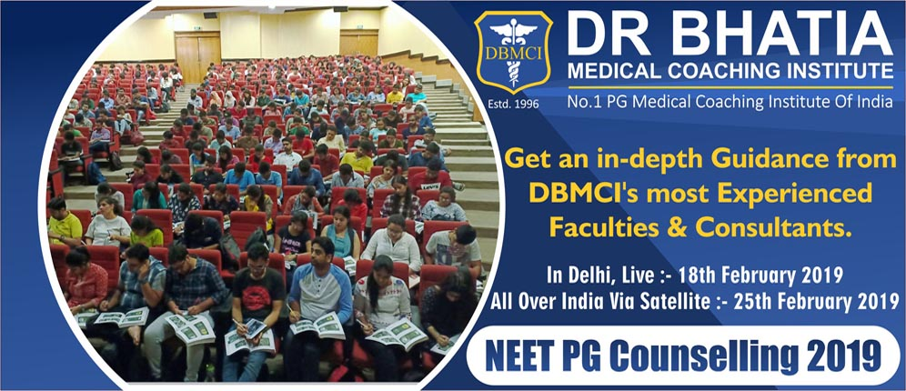 NEET PG Counselling 2019