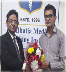 Dr. Nikhil Mehta PGI May 2017 Exam Rank 19