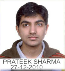 Dr. Prateek Sharma PGI May 2017 Exam Rank 4