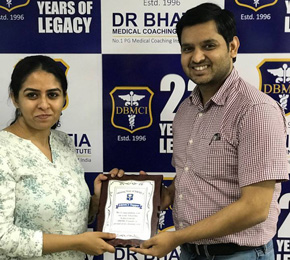 Dr. Arushi Rai Rank 51 in PGI May 2018 Exam Toppers