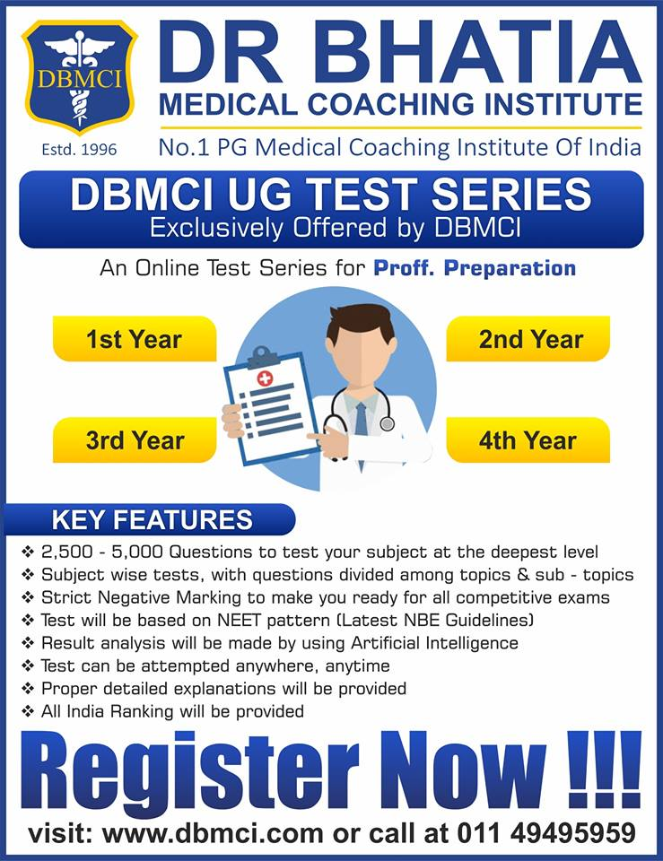 News and Events for Dr Bhatia Medical Institute DBMCI