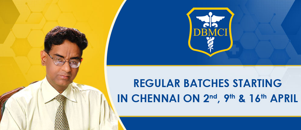 Regular Batches Starting in Chennai on 16th Oct