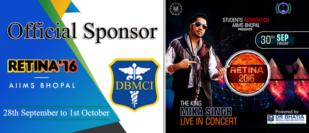 Official Sponsor AIIMS Bhopal